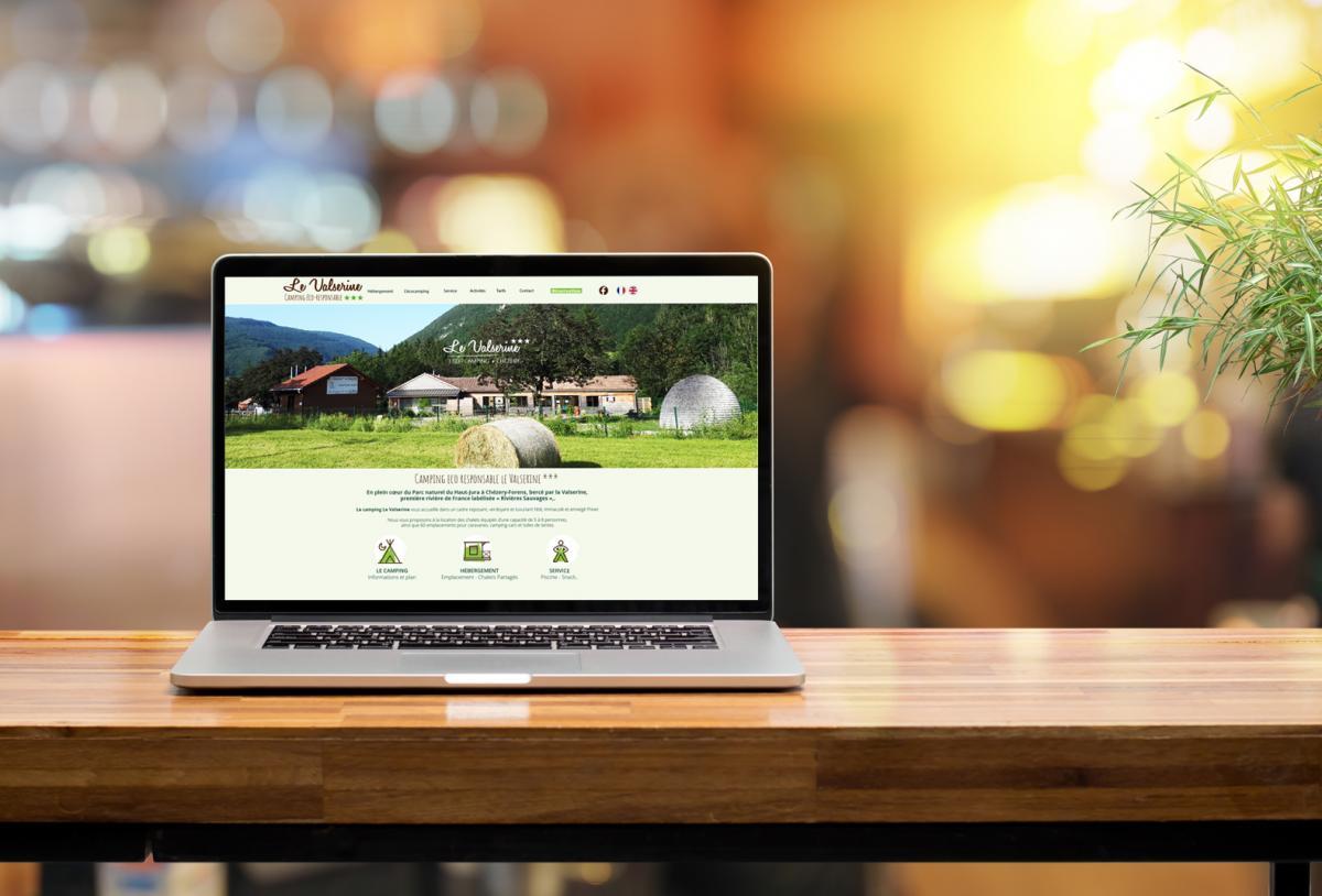 site internet camping Chezery-Forens