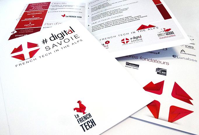 Plaquette de présentation Digital Savoie