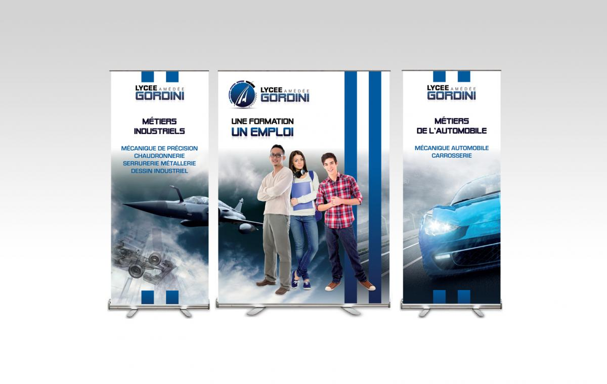 Roll-up lycée Gordini Seynod