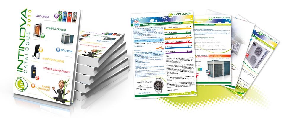 agence com chambéry brochure plaquette photovoltaïque pompe à chaleur chambéry intinova