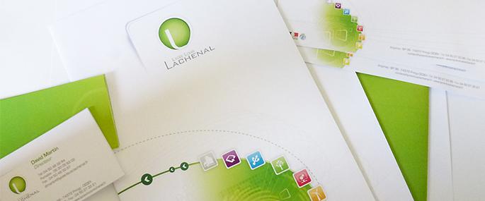 charte graphique - signalétique  lycée Lachenal
