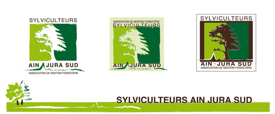 agence com chambéry logo sylviculteur ain jura sud
