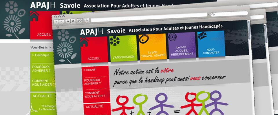 agence com chambéry site internet association adulte jeune handicapé savoie apajh73