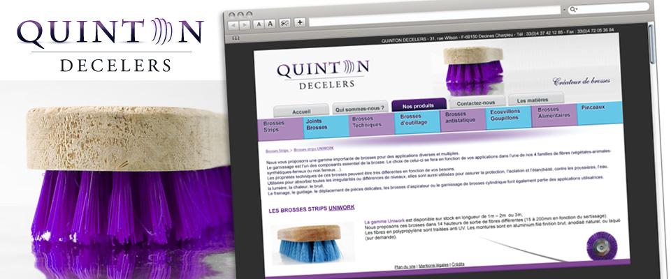agence com chambéry site internet brosse strip joint brosse écouvillons goupillons rhône lyon quinton decelers