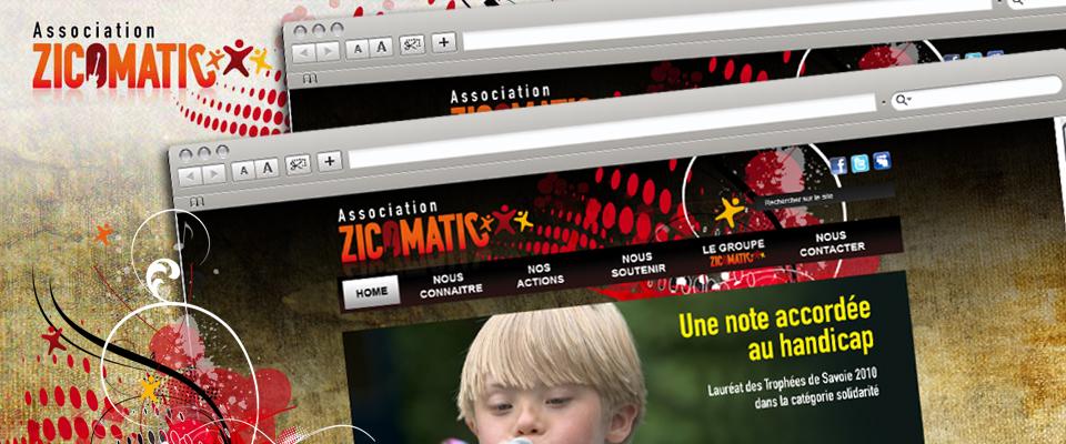 agence com chambéry site internet association du réseau national musique handicape savoie haute-savoie zicomatic