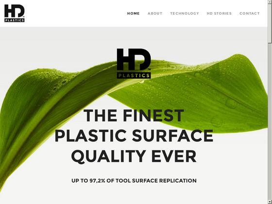 site Internet HDPLASTICS